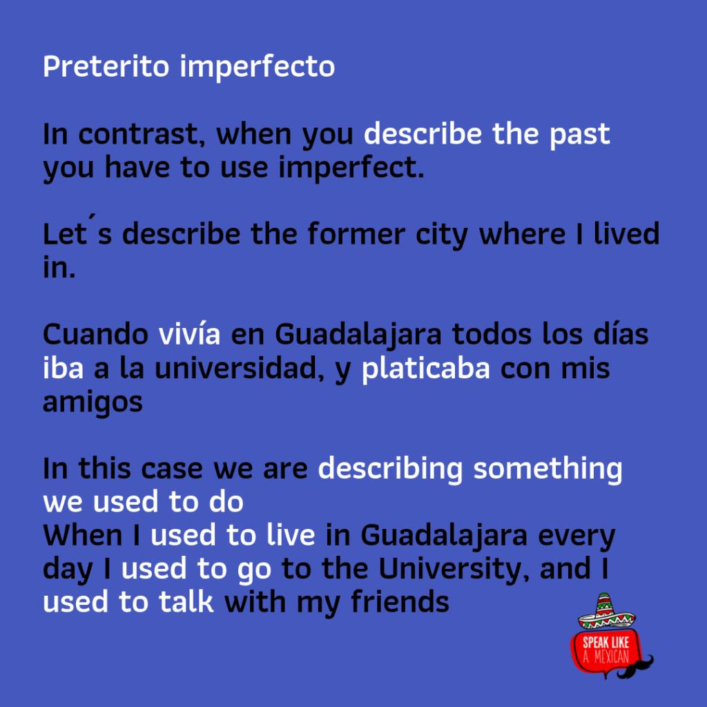 PRETERITE VS IMPERFECT IN SPANISH THE EASY GUIDE